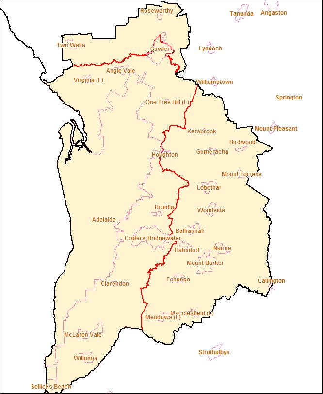 adelaide greater capital city boundary