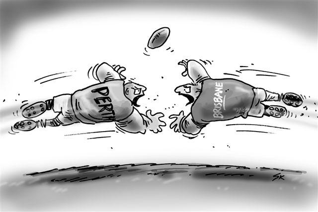 Perth vs Brisbane