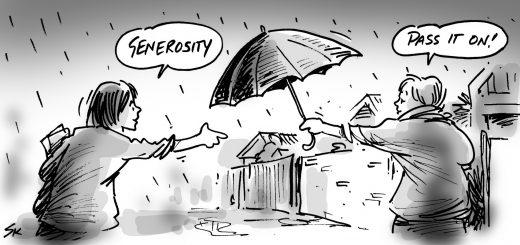 measuring generosity in communities