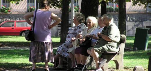 seniors in community